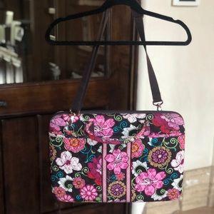 Vera Bradley Laptop Travel Bag w/ Shoulder Strap